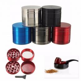 Nowy 4 Warstwy Zepsuty Dym Metalowe Rury Palenia Tytoniu Młynek Chwastów Herb Młynki Młynek sigaretten ekspres moledor de hierba