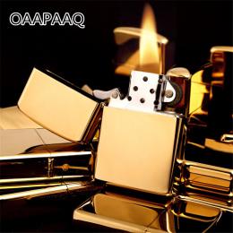 Gorący Bubel Benzyna Zapalniczka Nafta Olej Benzyna Zapalniczki Papieros Wielokrotnego Napełniania Metal Retro Mężczyzn Gadżety
