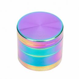 Nowy Kolor Rainbowl 4 Sztuka Metalowe Ze Stopu Cynku Herb Grinder 40 MM Palenia Tytoniu Kruszarka Mini Muller Chicha Szisza Narg
