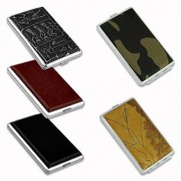 RUVZZ 11.11 Promocja Sprzedaż PU Papierosów Case Box Trzymać 12 14 16 18 20 sztuk Stopu Metalu Uchwyt Cygar TYTONIU STORAGE CASE