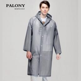 Moda Kobiety mężczyźni EVA Przezroczyste Rainwear Płaszcz Przeciwdeszczowy Przenośne Zewnątrz Podróży Wodoodporna Camping Z Kapt