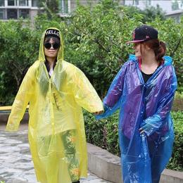 Nowa Gorąca Sprzedaż Jednorazowe Płaszcz Przeciwdeszczowy Dorosłych Awaryjne Wodoodporna Kaptur Poncho Podróże Camping Musi Desz