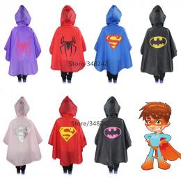 Płaszcz przeciwdeszczowy dla Dzieci Kreskówki Dla Dzieci Dziewczyny chłopiec rainproof Deszcz Płaszcz Wodoodporne Poncho Przeciw
