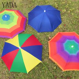 YADA 8 Kości 50 CM Czapka Rybacka Parasol Deszcz Kobiety uv Parasole słoneczne I Deszczowe Parasol Dla Kobiet Wiatroszczelna Gło