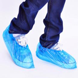 100x Elastyczne Plastikowe Jednorazowe Ochraniacze Na Buty Ochronne Czyszczenie Dywanów Kalosz