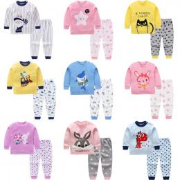 Dzieci Cartoon chłopców odzież dla niemowląt Z Długim rękawem noworodków odzież Jesień zima bawełniane chłopcy Top + pant 2 sztu