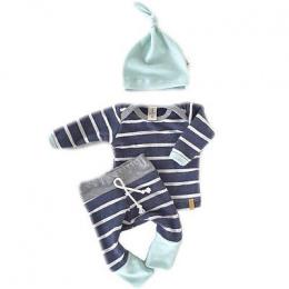 2018 Wiosna i Jesień dziecko chłopcy odzież casual 3 sztuk (Kapelusz + T-shirt, spodnie) Paski rekreacyjne dla dzieci chłopcy Od