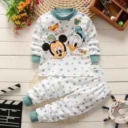 Zima Noworodka ubrania dla dzieci zestaw bawełna dziewczynek Ubrania 2 SZTUK Cartoon baby Boy Ubrania Unisex dzieci Zestawy Odzi