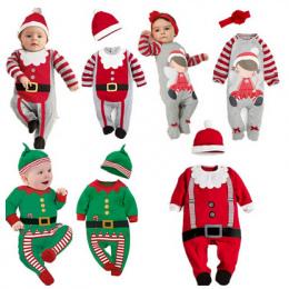 PPY-78, 2018 Christmas Baby pajacyki Kostium dzieci noworodka ubrania z długim rękawem wiosna dzieci odzież dla niemowląt set to