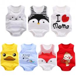 Garnitur Lato One-pieces Kombinezon Odzież Dla Dzieci Baby Boy Dziewczyna Odzież Baby Pajacyki Newborn Baby Girl Ubrania Romper