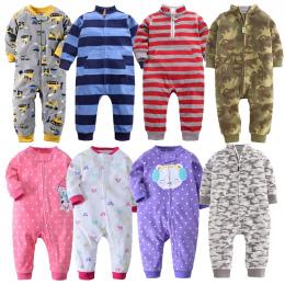 2018 ubrania Dla Dzieci bébés kombinezon kołnierz polar noworodka piżamy niemowlęta odzież boys baby maluch chłopców ubrania kom