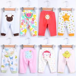 Newborn Baby Spodnie 5 sztuk/partia Dzieci Legging Odzież Babe Dinozaur Gwiazda Sheep Cartoon Zwierząt Cute Boy Dziewczyna Baweł