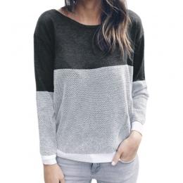 Odwracalne kobiet Drążą Sweter Z Dzianiny Swetry Backless Długim Rękawem Dwa Boczne Zużycie Jesień Zima Plus Size Skoczek GV151