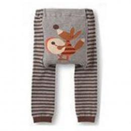 Cute Baby Kid Niemowlę Maluch Newborn Cartoon Striped Legginsy Długie Spodnie 6 Kolory