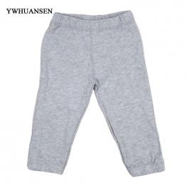 YWHUANSEN Jednolitym Kolorze Spodnie Dla Chłopca Bawełna Spodnie Elastyczne Otwarcie Nogi Rajstopy Dla Dzieci Dla Chłopca Grube