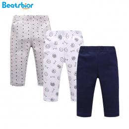 3 Sztuk/partia Dziecko Spodnie 100% Bawełna baby boy Dziewczyna Spodnie drukuj Niemowlę Dziecko Legginsy Talii Spodnie Spodnie D