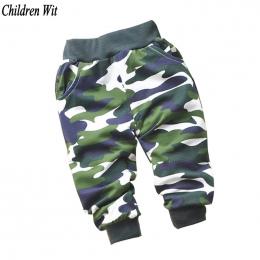 Wiosna i Jesień Piękne Bawełniane Kamuflażu Spodnie Noworodka Baby Boy Spodnie Dziewczynek Spodnie Dla Dzieci Odzież Dla Dzieci