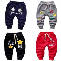 Chłopców i dziewczynek wiosenne i jesienne długie spodnie 0-3 lat 2018 niemowląt i małych dzieci spodnie nowy projekt cartoon śl