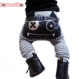 Lawadka Cartoon Potwór Harem Spodnie Casual Śliczne Dzieci Dziewczyny Boys Baby Dna Spodnie Baby Boy Spodnie