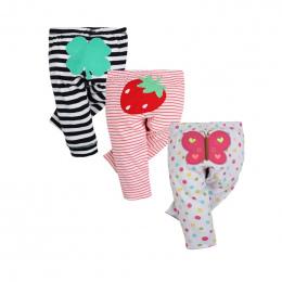 3 SZTUK/PARTIA 2018 New Moda Dla Dzieci Spodnie 100% Bawełna Wiosna Jesień Noworodek Legginsy Dziecięce Baby Boy Dziewczyna Odzi