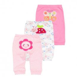 Nowy 3 sztuk/partia 2018 ubrania dla dzieci harem maluch Spodnie dziewczynka spodnie W Połowie Pasa 0-2 lat bawełna Noworodka un