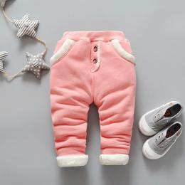 BibiCola 2017 Nowe Dziecko Ciepłe Spodnie Chłopców Polarowe Spodnie Dziewczynek Zimowe Spodnie Dla Dzieci Na Co Dzień Spodnie