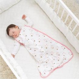 100% Bawełny Muślinu Dziecko Cienkie Slumber Śpiwór Mod Na Lato pościel Dziecko Saco De Dormir Para Bebe Worki Sleepsacks