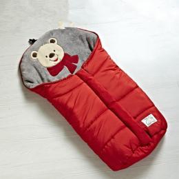 Jesień Zima Ciepłe Dziecko Śpiwór Sleepsack Na Wózek, Miękkie śpiwór dla dziecka, Dziecko slaapzak, sac couchage naissance
