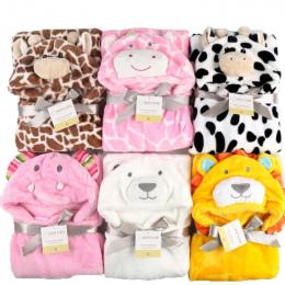 Cartoon Dziecko Śpiwór Dziecko Odzież zestaw Otrzymaniu Koc Zwierząt Ręcznik kąpielowy Szlafrok Wrap Płaszcz Pościel zestaw