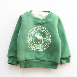BibiCola Zima Dzieci Cartoon swetry Dla Dzieci Dziewczyny Chłopcy Z Długim Rękawem Casual Zagęścić ciepłe koszula Ubrania Dla Dz