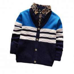 BibiCola chłopczyk Sweter 2017 Nowy Przyjazd Bebe Odzież Berbeć Chłopcy Cardigan Znosić Płaszcz Wiosna Jesień dzieci Skoczków To