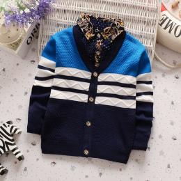 BibiCola Jesień Zima chłopcy swetry kntting cardigan casual chłopcy swetry dzieci Dzieci Ciepłe Ubrania Prezent Dla Chłopca