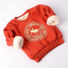 BibiCola Zima Dzieci Cartoon Swetry Dla Dzieci Dziewczyny Chłopcy Z Długim Rękawem Casual Zagęścić Ciepłe Koszula Swetry Ubrania