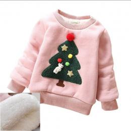BibiCola Dziecko Sweter Dziewczyna Chłopiec Jesień Zima Nosić Ciepłe Cartoon Swetry Dzieci Gruby Casual Velvet Kostium Ubrania D