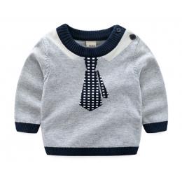 Boys Baby Sweter Jesień Zima Sweatershirt Tiny Bawełny Dziewczyny Sweter Z Dzianiny Sweter Ciepły Sweter kid odzież BDZ873003