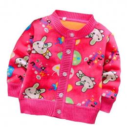 BibiCola Dziecko Swetry Wiosna Jesień Dziewczynek Chłopców Aksamitna Kardigan Sweter kurtkę Polarową Odzież Wierzchnia Dla Dziec