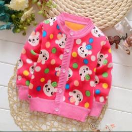 BibiCola Sweter Cartoon Cardigan Sportowe Ubrania Dla Dzieci Maluch Boys Baby Dziewczyny Ciepłe Dzianiny Swetry Wiosna Jesień Dz