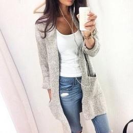 2017 Jesień Zima Moda Kobiety Z Długim Rękawem loose knitting sweter sweter Kobiety Sweter Z Dzianiny Kobiet pull femme