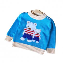 BibiCola Wiosna Jesień Dzieci Bawełna Kreskówki Z Długim Rękawem Swetry Dla Chłopców Dziewcząt Dziecko Jesień Sweter Z Dzianiny
