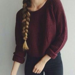 Jesień zima kobiety swetry i pulowery koreański styl z długim rękawem casual crop sweter szczupła stałe dzianiny swetry sweter m