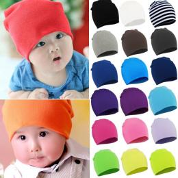 2017 Wiosna Nowy Unisex Baby Boy Dziewczyna Dzieci Maluch Niemowlę kolorowe Bawełniane Miękkie Słodkie Kapelusze Czapka zimowa