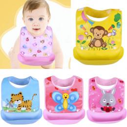 Nowo narodzonego Dziecka Śliniaki Wodoodporne Fartuchy Szelkach Dziecka niemowlę śliny ręczniki cute baby kreskówki śliniaczek d