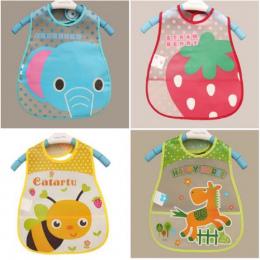 EVA Wodoodporne Śliniaki Lunch Śliniaczki dla niemowląt Chłopcy Dziewczyny Niemowlęta Cartoon Wzór Karmienie Śliniaczki Burp Płó