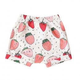 2018 Letnie Spodenki Dla Dzieci Chłopcy Dziewczęta Owoce Style Stripe Zwierząt Fox Wzór Dzieci PP Spodenki Noworodka Harem Spode