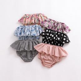 Moda lato dziewczynek chłopcy szorty Noworodka Krotnie Spodnie bloomers Dziewczyny Wzór Trójkąta Szorty maluch PP Spodnie Ubrani