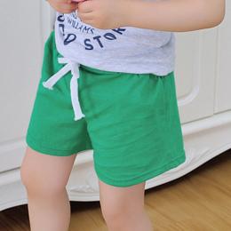 Letnie spodenki bawełniane spodenki dla dzieci chłopcy dziewczęta Dzieci wata cukrowa odzież marki Stałe krótkie Spodnie Moda sp