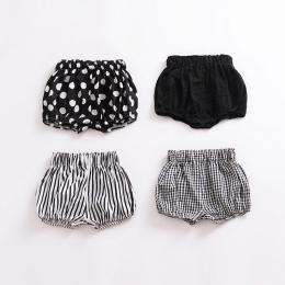 Moda lato dziewczynek chłopcy szorty Newborn Baby bloomers Spodenki Letnie maluch Dziewczynka Wzór Spodnie PP Spodnie Ubrania