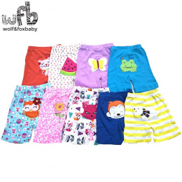 Detal 5 sztuk/partia 0-24months PP spodnie szorty spodnie Dla Niemowląt cartoon dla chłopców dziewcząt Odzież noworodka ubrania
