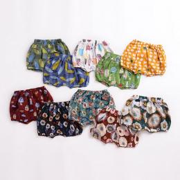 Moda lato Dziewczynek Chłopców Chleb spodenki Newborn Baby bloomers Szorty maluch Dziewczynka Wzór Spodnie PP Spodnie Ubrania