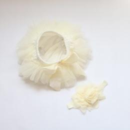 Dziewczynka Szyfonu Ruffle Flower Szorty Majtki Majtki Księżniczka Pettiskirt Pokrywę Pieluchy Dziecięce Spodnie Dolne Nappy Okł